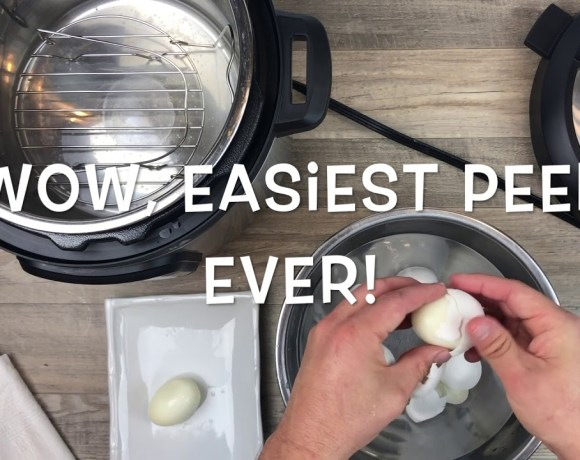 Instant Pot Hard Boiled Eggs - Easy & Delicoius!