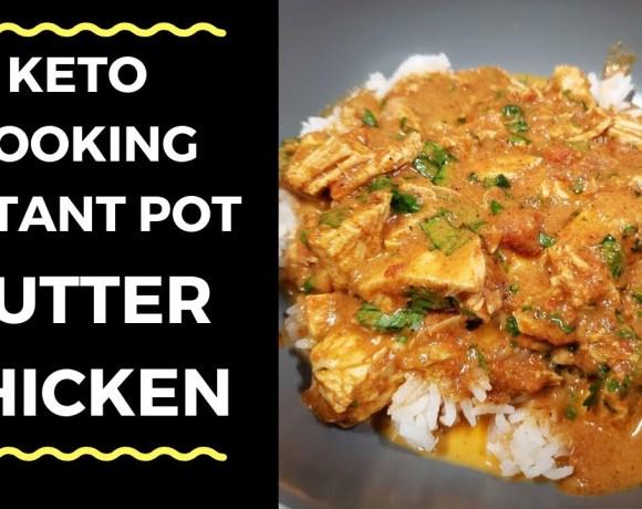 Keto Instant Pot Butter Chicken