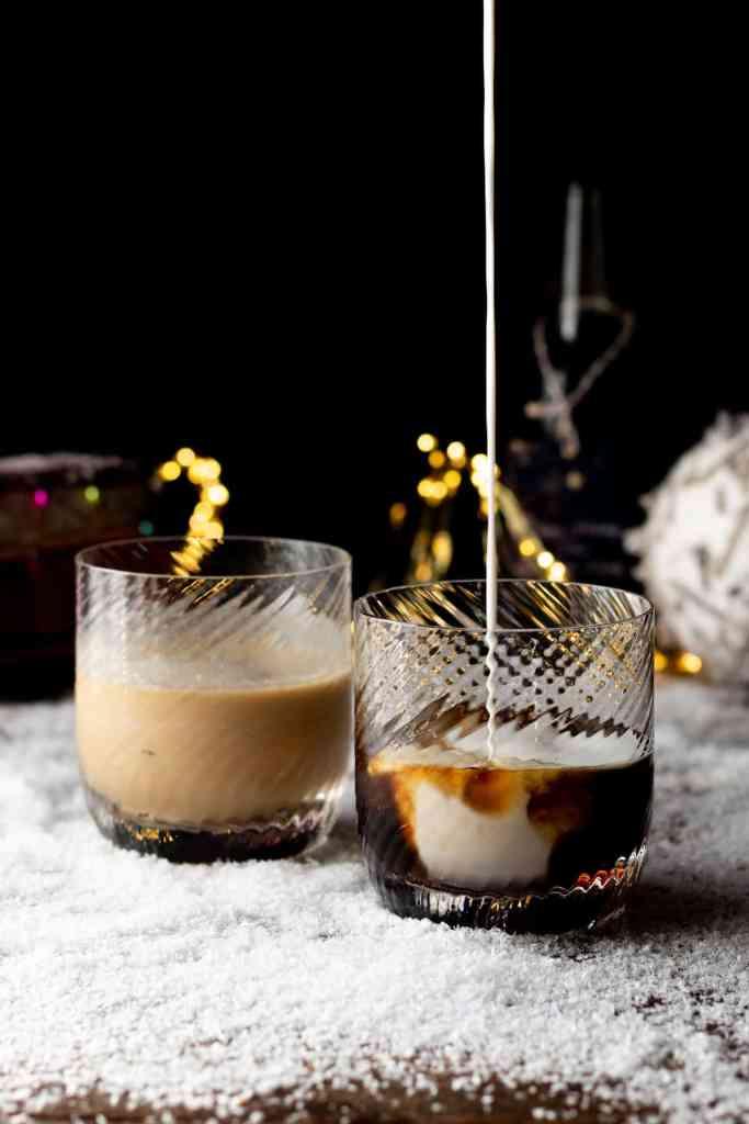 Vegan White Russian Cocktail recipe