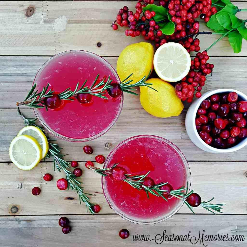 Cranberry Lemon Drops Recipe