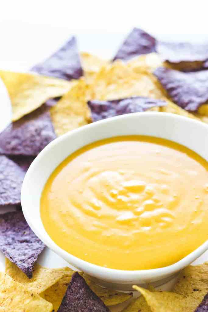 Homemade Nacho Cheese Sauce recipe