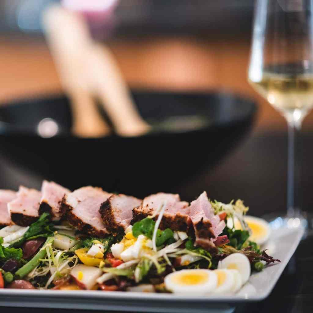 nicoise salad with seared ahi tuna recipe