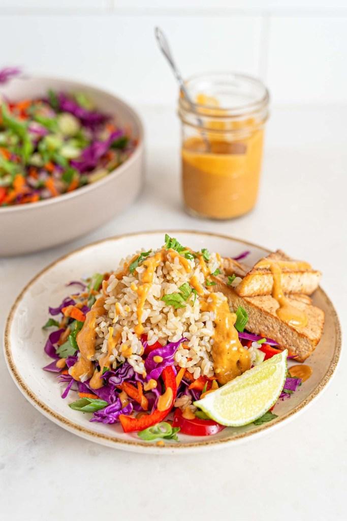 Vegan Thai Chopped Salad Recipe