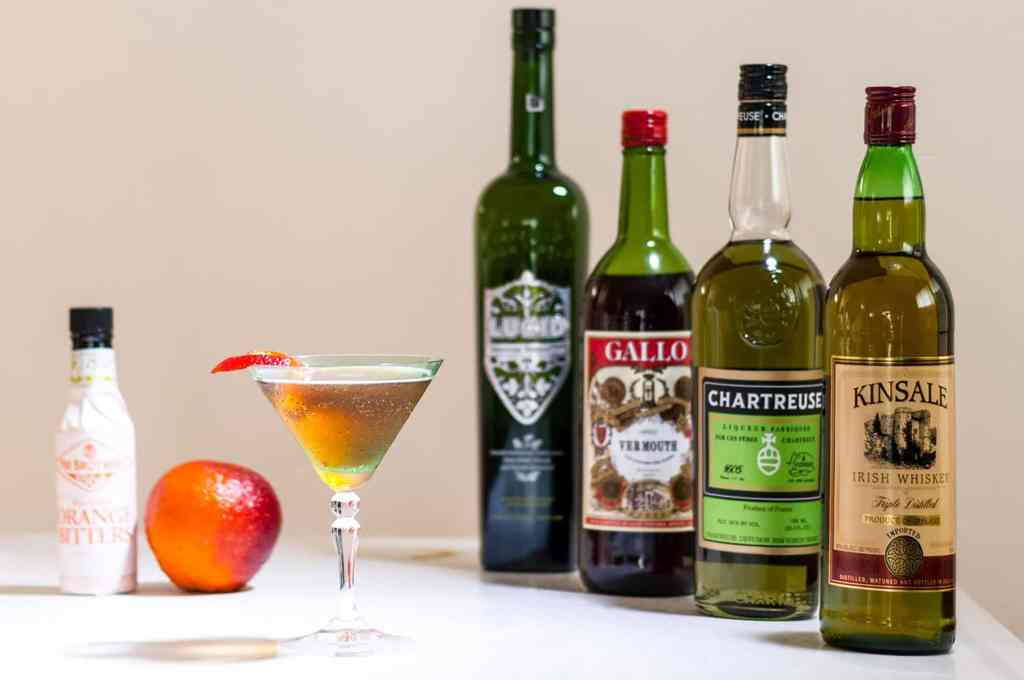 Happy Paddy's Manhattan Cocktail recipe