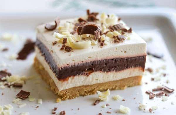 No Bake Irish Cream Dream Bars recipe