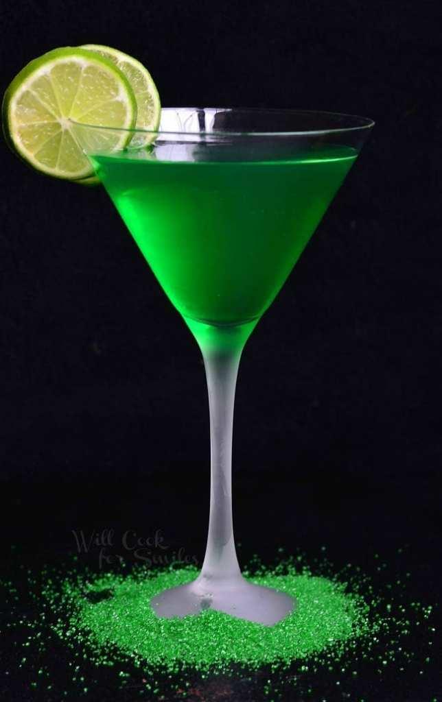 Lime Vodka Martini recipe