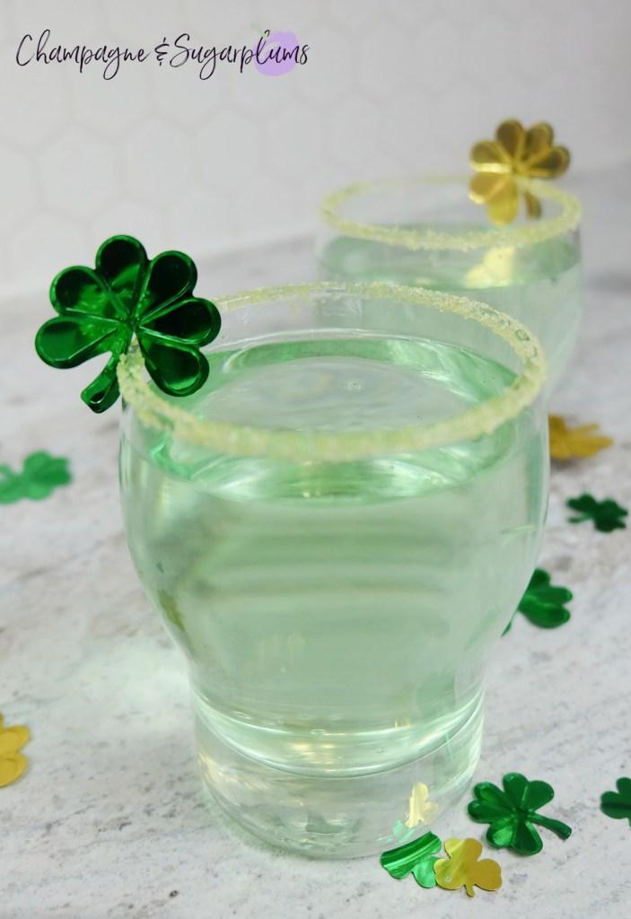 Lucky Green Smash cocktail recipe