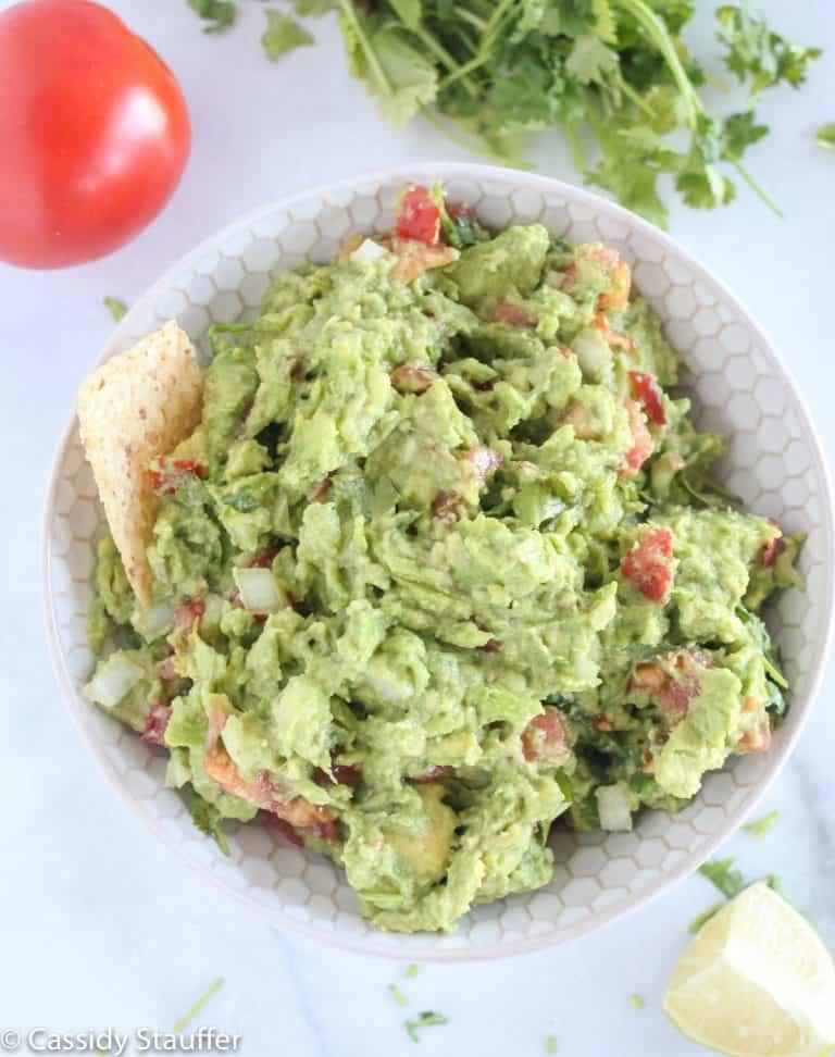 Classic Evergreen Guacamole