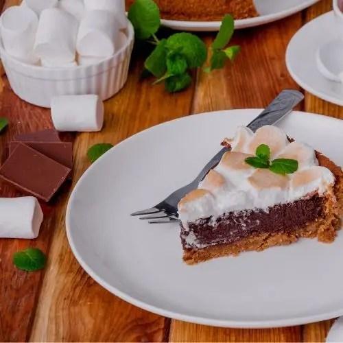 Delicious Marshmallow Tart