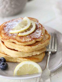 Lemon Ricotta Pancake Recipe