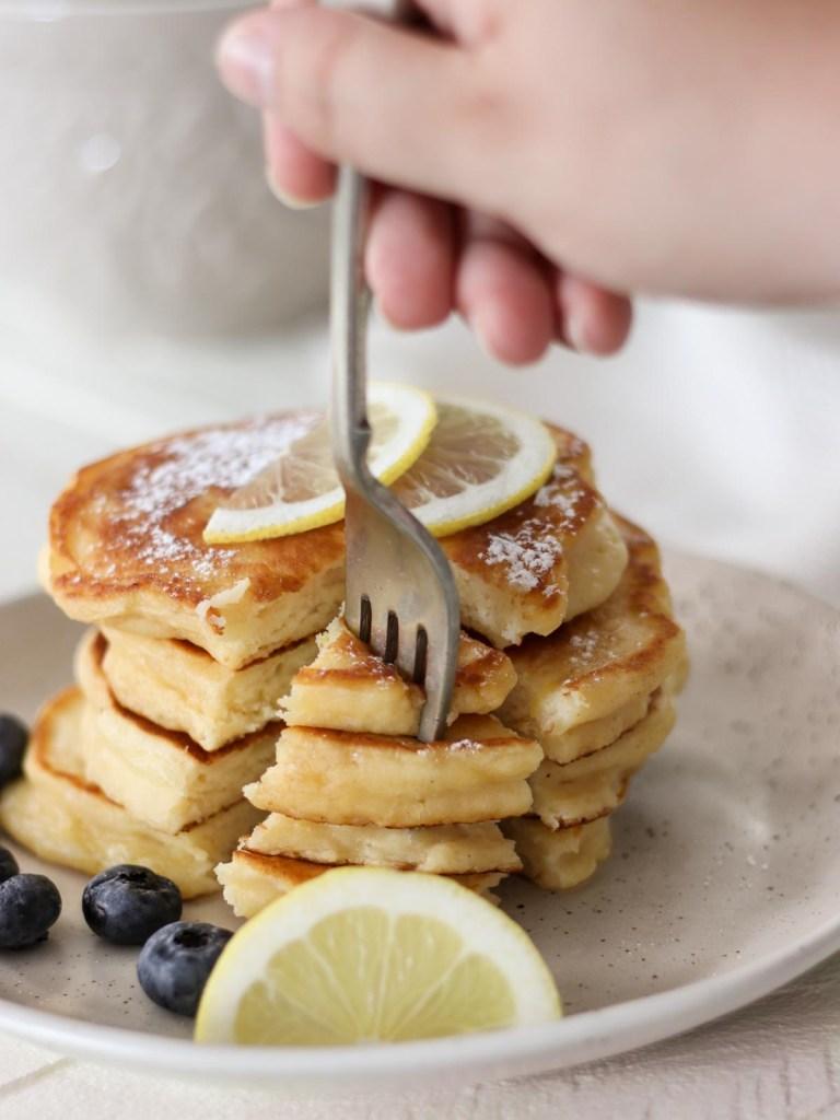 How to Make Lemon Ricotta Pancakes