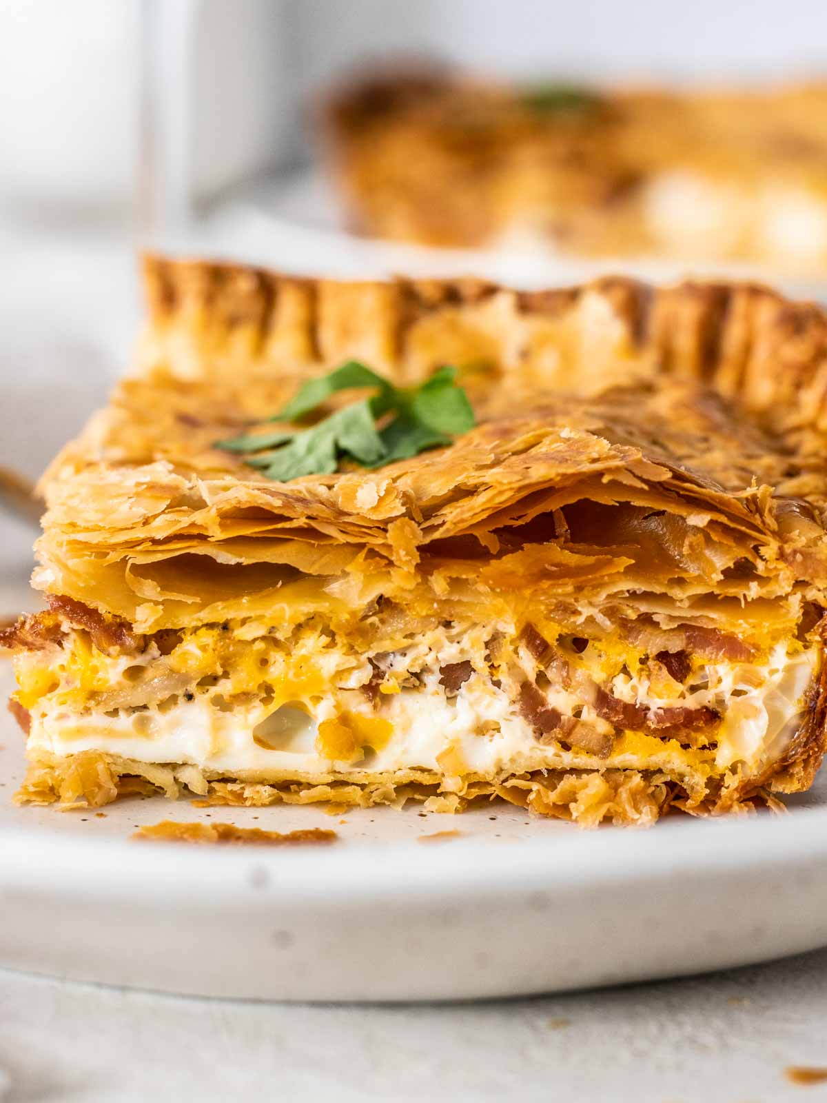 Bacon and Egg Pie Recipe