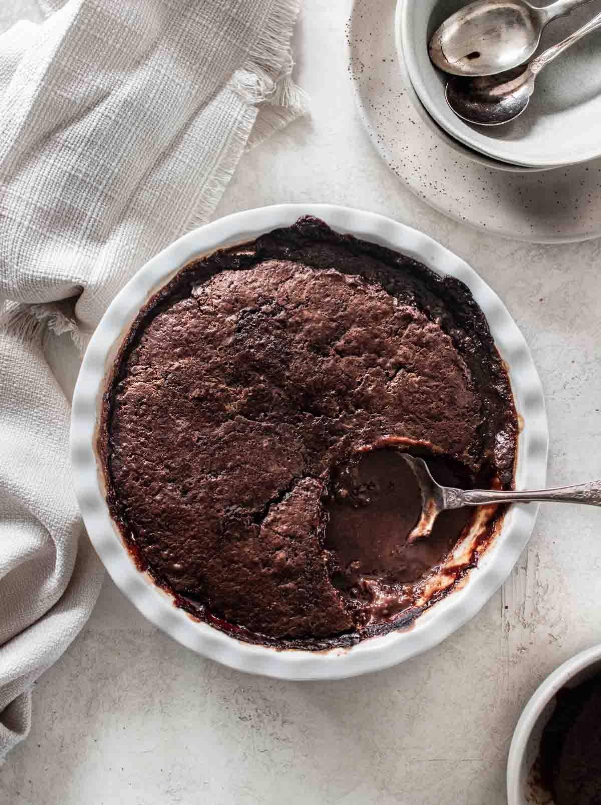 microwave chocolate pudding