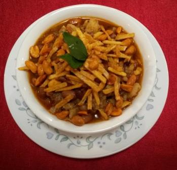 Sweet Potato Misal for Fasting