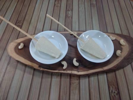 Kaju Kulfi – Cashew Nuts Kulfi