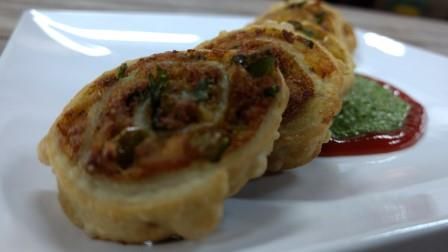 Mix Vegetable Samosa Pinwheels