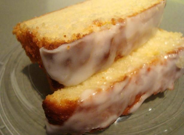 Glazed Pound Cake Lemon