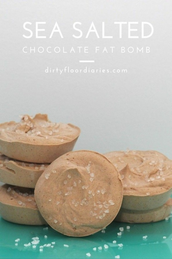 Sea Salted Chocolate Fat Bomb