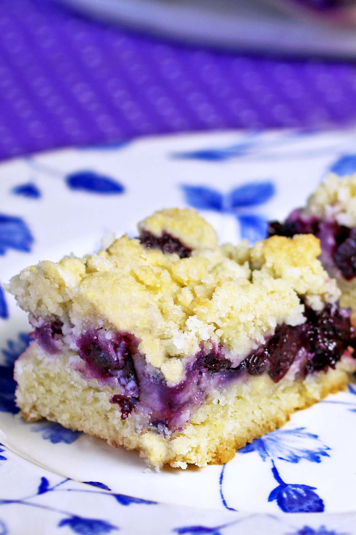 Blueberry Cake Crumb Bars Recipes Food And Cooking