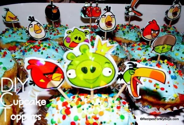Easy DIY Cupcake Toppers
