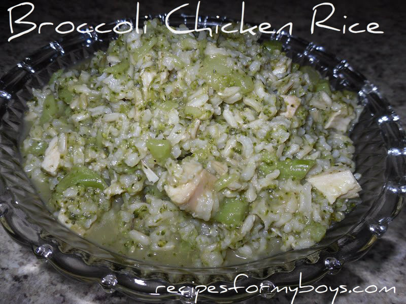 Broccoli Chicken and Rice…The Easy Way