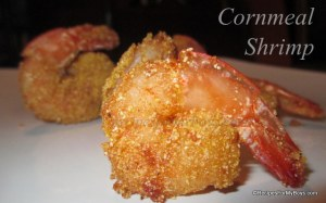 Read more about the article Cornmeal Shrimp and Cooking Planit