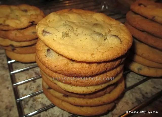 Dark Chocolate Chip Biscuit Mix Cookies
