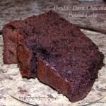 Double Dark Chocolate Pound Cake
