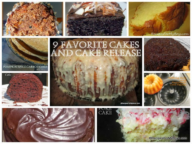 Nine Of My Favorite Cakes and Homemade Cake Release