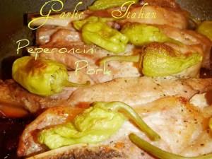 Garlic Italian Peperoncini Pork