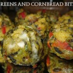 Greens and Cornbread Bites