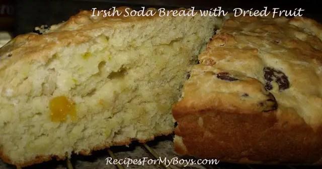 Irish Soda Bread with Dried Fruit