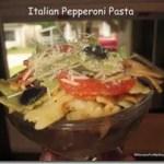 Italian Pepperoni Pasta