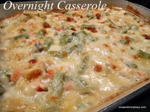 Make it Your Way Overnight Casserole