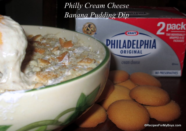 Philly Cream Cheese Banana Pudding Dip