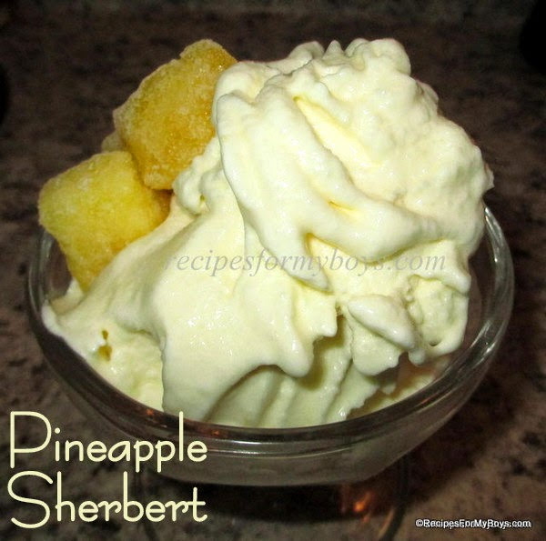 Pineapple Sherbert
