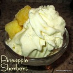 Pineapple Sherbert