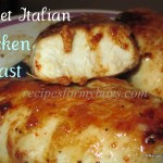 Sweet Italian Skillet Chicken Breasts