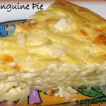 Alfredo Linguine Pie