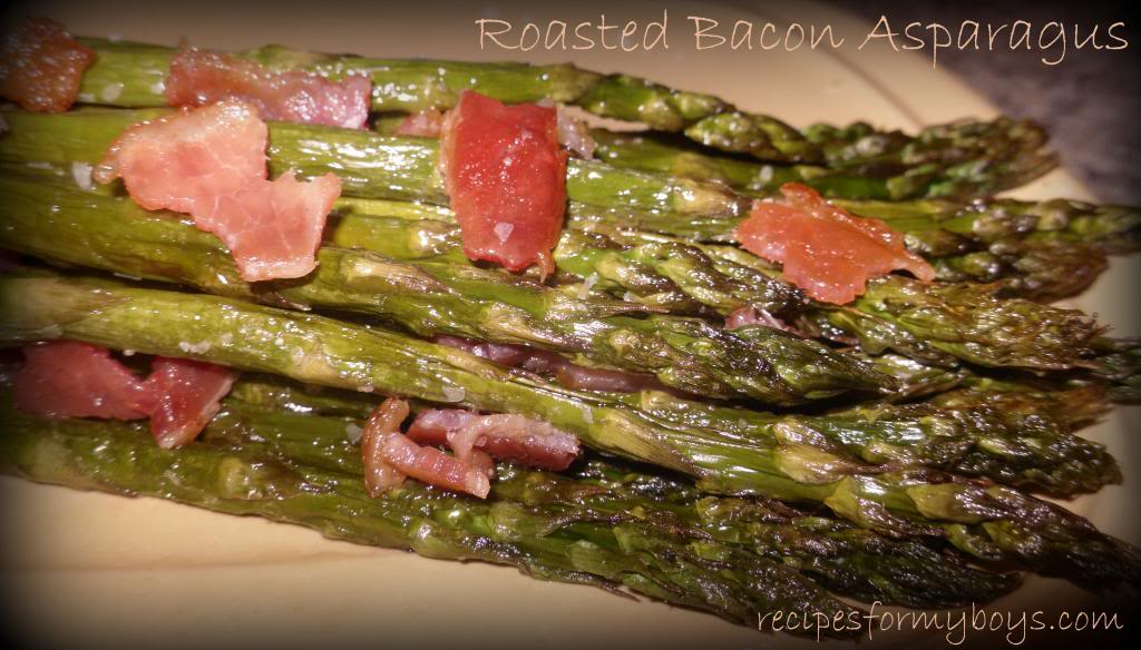 You are currently viewing Roasted Caramelized Bacon Asapargus