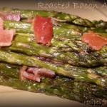 Roasted Caramelized Bacon Asapargus