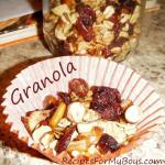 DIY Homemade Granola