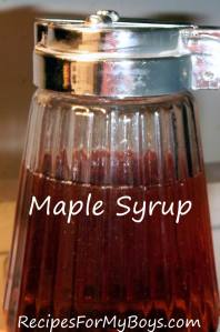 DIY Homemade Maple Syrup