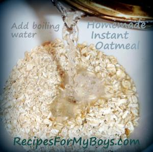 Read more about the article Homemade Instant Oatmeal