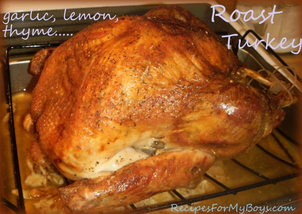 You are currently viewing Roast Turkey and Being Thankful