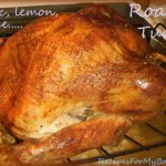 Roast Turkey and Being Thankful
