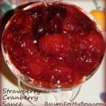 Strawberry Cranberry Sauce