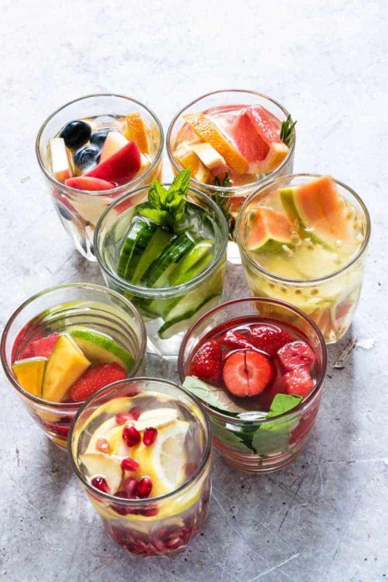 7 Infused Water Recipes {Gluten-free, Vegan, Paleo}