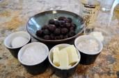 Cherry Berry Custard Pie - Ingredients