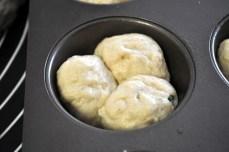 Three balls of dough